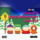 JUEGONES Podcast: Episodio 06 caricaturas para adultos