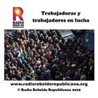 Trabajadoras y trabajadores en lucha - 04.09.2019