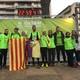 L'equip Bec i Pota arriba a la meta del la Oxfam Trailwalker2018