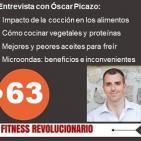 Episodio 63: Cocinando para maximizar nutrientes y minimizar toxinas, con Óscar Picazo