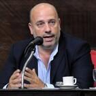 Andrés De Leo, senador provincial.