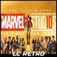 10 años de Marvel Studios- Pd 168 - LC Retro