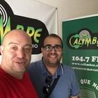 Yone Rodriguez (musico, autor y timplista) en Activate con Santy Alonso - jueves 200619 calimbre radio 104,7 fm