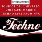 421.- Superasis Presents SONIDOS DEL UNIVERSO (SDU421) Unika.fm Techno RadioNYClub 30.06.20