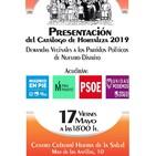 Enlace Informativo 16 mayo 2019: Entrevista por presentación Catálogo Demandas Vecinales de Hortaleza, Día del árbol...