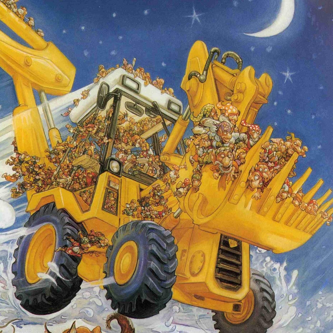 #223 El Éxodo de los Gnomos Camioneros (cap 8) Terry Pratchett