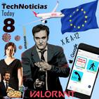 Programa 8 - Empieza la fase 1, el PP de capa caída, aniversario de la Unión Europea, Apps anticovid, Tarantino y V...