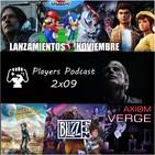 """Players Podcast 2x09.Lanzamientos, Death Stranding """"Análisis de la Polémica"""", PS4 ama el PC, Blizzcon19, Luigis Mansion3"""