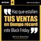 #063 Haz que estallen tus ventas en tiempo récord este Black Friday (sin descuentos).