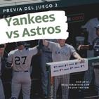 Yankees listo para el juego dos de la ALCS contra los Astros