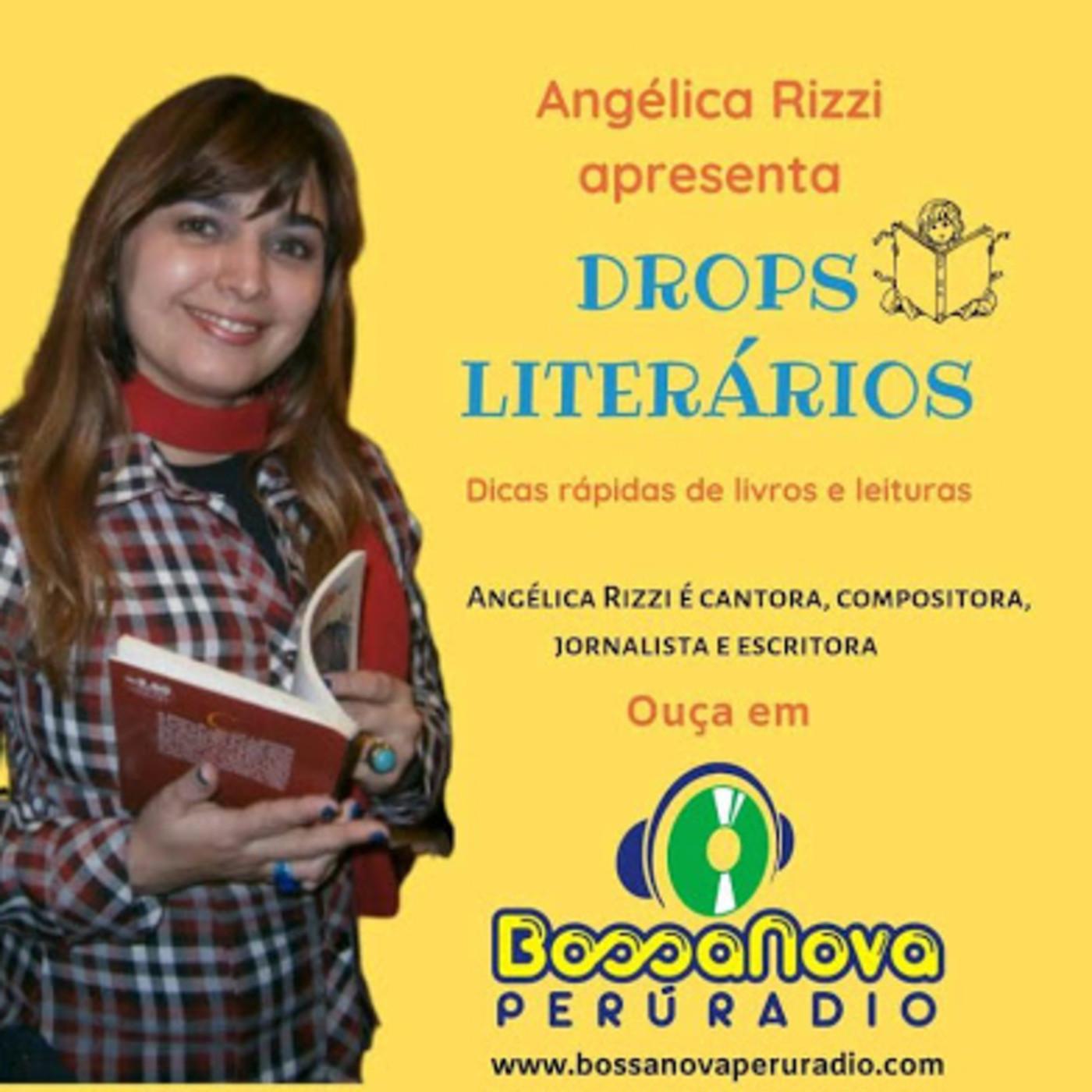 Drops literários com Angélica Rizzi apresentando Mario Quintana