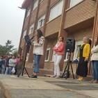 Comienzo del curso en el CEIP Castilla y León de Aguilar de Campoo