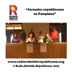 Presentación Jornadas Republicanas en Pamplona el 25 y 26 de enero por JRIN
