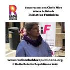Conversamos con Chelo Mira cabeza de lista de Iniciativa Feminista
