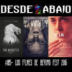 D.A. 185- Los Filmes de Beyond Fest 2016