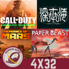 GR (4x32) Resident Evil 8, PS5, Modern Warfare 2 Remastered, Shinsekai into The Depths, Memories of Mars y Paper Beast