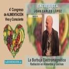 La Burbuja Electromagnética: Radiación en Alimentos y Cocinas - Entrevista a Joan Carles López