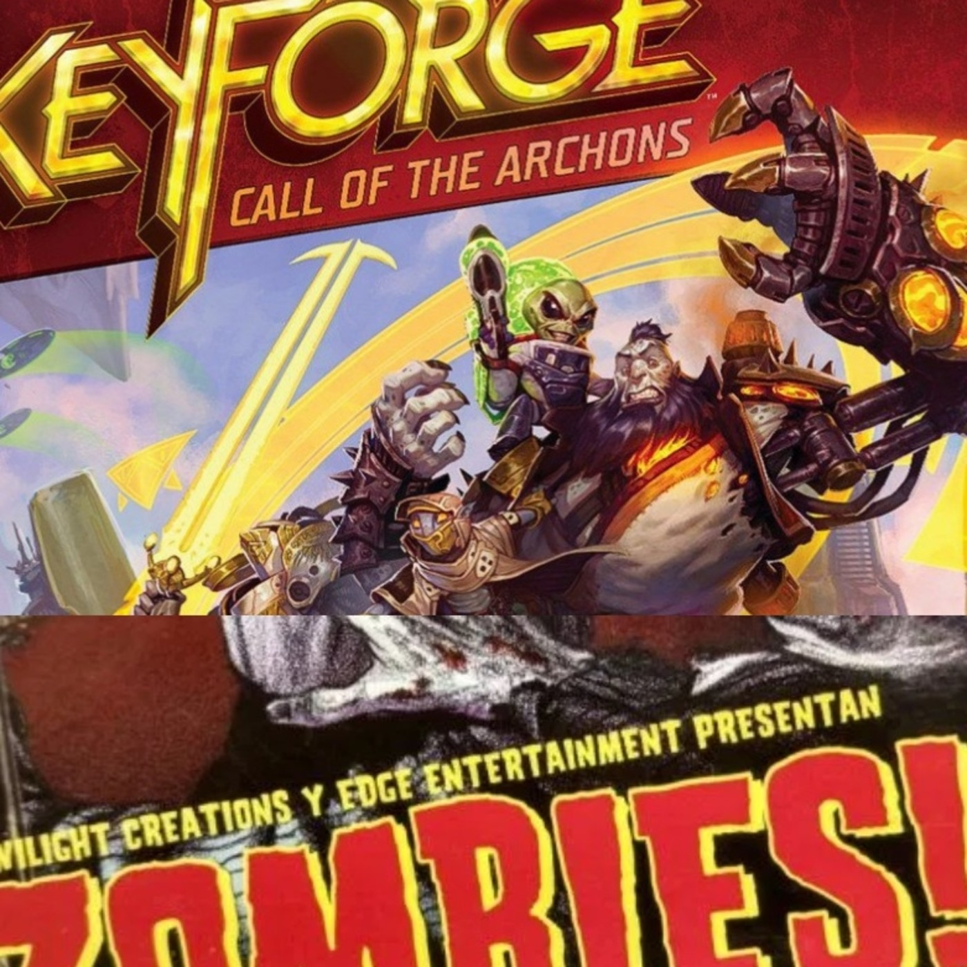 Space Paranoids 1x02 Key Forge & Zombies!!!