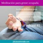 Podcast #1. Episodio 1 de la Guía para aprender a Meditar