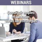 Webinar: Conseguir empleo en Linkedin: todas las estrategias