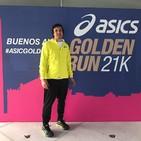 Asics Golden Run bajo la mirada de Fermin Amezqueta
