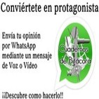 Conviértete en protagonista de Cuadernos de Bitácora mediante Whatsapp