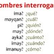 10 Pronombres interrogativos