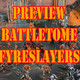 Preview Battletome FYRESLAYERS