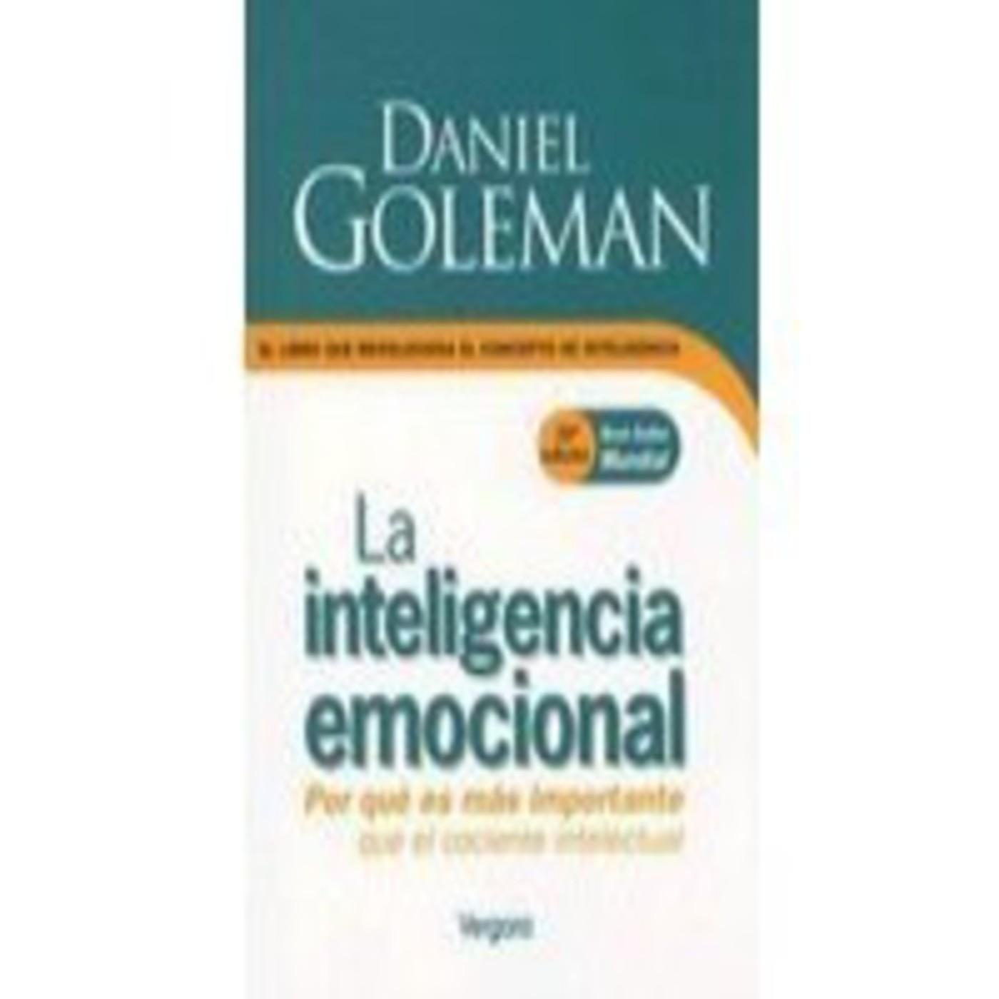 34..INTELIGENCIA EMOCIONAL, Daniel Goleman