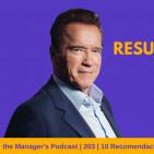 10 Recomendaciones de Arnold Schwarzenegger para alcanzar Objetivos | 203