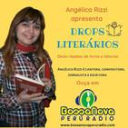 Drops literários com Angélica Rizzi apresentando Jack Kerouac