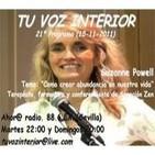Tu voz interior: Programa 21º 'Como crear abundancia' (15-11-2011)