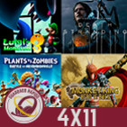 GR (4X11) GTA VI, Horizon Zero Dawn 2, Death Stranding, Luigi's Mansion 3, Plantas vs Zombies 2 y The Monkey King