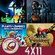 GR (4X11) GTA VI, Horizon Zero Dawn 2, Death Stranding, Luigi's Mansion 3, Plantas vs Zombies 2 y The Monkey King