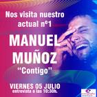 ENTREVISTA A MANUEL MUÑOZ presentando CONTIGO en ESTACION GNG y ENERGIA FM .... Actual nº1 en Playlist GNG