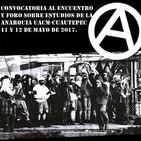Tercer Foro de Reflexiones Anarquistas UACM Cuautepec