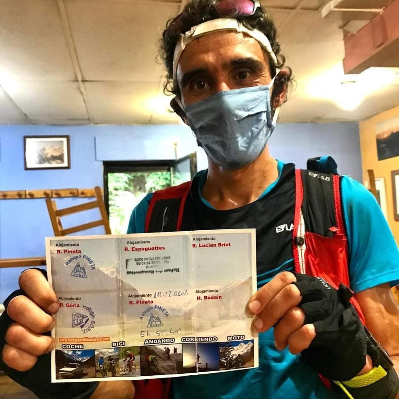 MONTE PERDIDO EXTREM: Marca rápida Aritz Egea (FKT) 5h51m. Entrevista por Mayayo en Radio trail