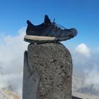 16.- Mochileros en el Monte Perdido a 3.355m (por los miradores de Ordesa).