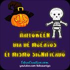 Halloween / Día de los muertos (el mismo significado) PD1M.046