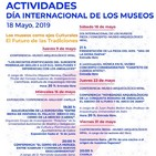 """Antonio Moreno: """"Durante todo el mes de mayo programamos una serie de actividades para dar relevancia a los museos"""""""