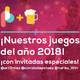 ¡Nuestros juegos del año 2018! | Pixelbits con Cerveza