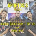 Horror, exorcismos y tattoos (Con Juan Tapia)