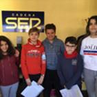 Nos visitan alumnos delColegio MIGUEL DE CERVANTES de C. Villalba