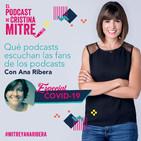 Qué podcasts escuchan las fans de los podcasts con Ana Ribera. Especial COVID-19