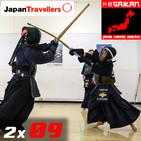 2x09 - El kendo, una de las artes marciales más populares de Japón. Estudiantes practicando en un dojo en Kishiwada