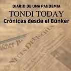 """TONDI TODAY: Diario de una pandemia. 8 """"Tertulia: Inma Argüelles, Carlos Horrillo y Pedro López""""."""