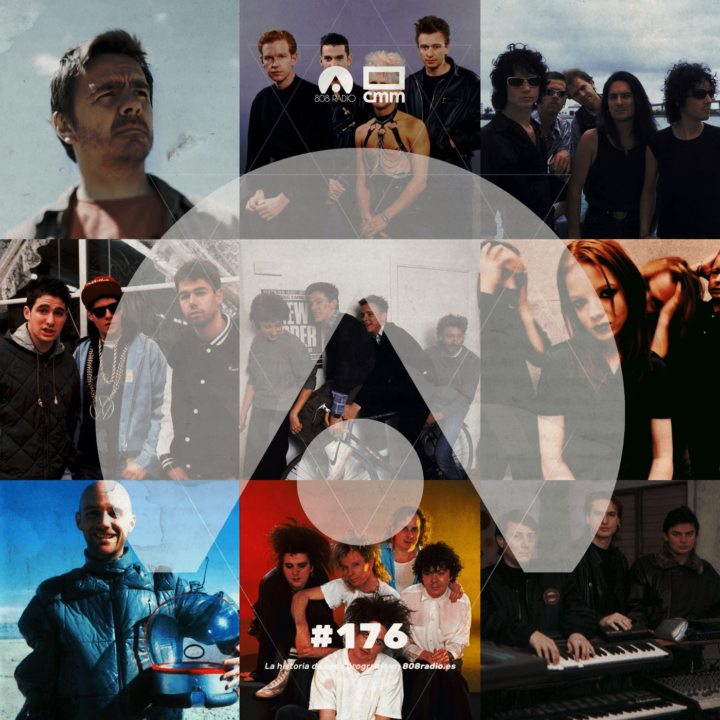 808 Radio #176 / Leyendas I / CMM Radio – 22/8/2020