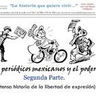 Historia de los periódicos mexicanos (parte II).
