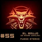 #55 Fuego Eterno una aventura de The Witcher de Andrezj Sapkowski