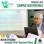 Contacto Tierra 58: Campus sustentable (con el Prof. Geovanni Siem)